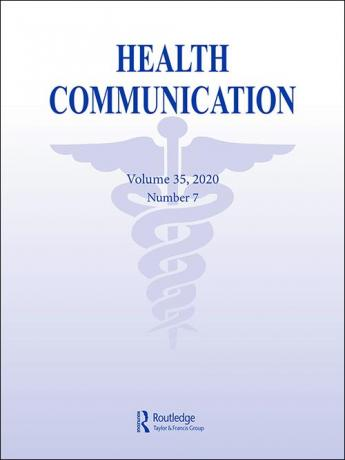 A cover from the journal Health Communication